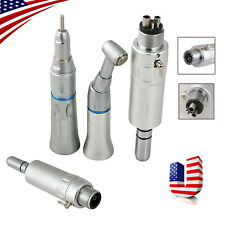 Dental Slow Low Speed Handpiece Contra Angle Straight Air Motor 24 Hole E Type