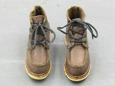 1/6 scale toy Club 2 - Van Ness - Brown Shoes (Foot Type)