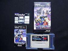 Fire Emblem Mystery of the Emblem Super Famicom Japan SFC SNES USED Box