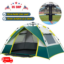 Outdoor 3-4 Person Waterproof Instant Automatic Pop Up Tents Camping  Hot Sell