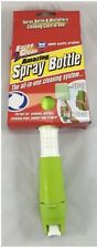 Water Spray Bottle and Microfiber Cloth  Window Kitchen Easy to Clean Green 1816