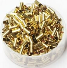Raw Brass  ( 2 MM Hole  X  5 MM Length ) Tube Spacer Beads  Pkg Of 100
