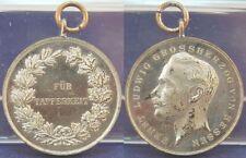 Hessen-Darmstadt, 1894-1918 Tapferkeitsmedaille, Kopf Ernst Ludwig vz