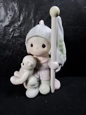 """Precious Moments   """" This Land Is Our Land """"    Figurine   Retired"""