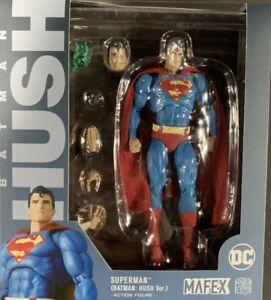 U.S SELLER Authentic Medicom Toy Mafex No.117 DC Superman (Batman: HUSH Ver.)