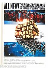 Conquest of the Planet of the Apes Fridge Magnet (2.5 x 3.5 inches) movie poster