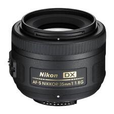 Nikon AF-S DX Nikkor 35mm 35 mm 1.8 G de exposición, utilizada, como nuevo * 5154