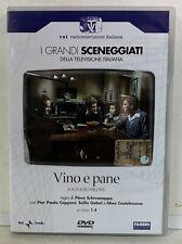 02238 DVD I Grandi Sceneggiati RAI - Vino e pane (2 Dischi) Pt 1-4