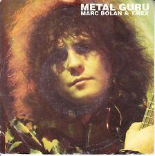 MARC BOLAN & T. REX  Metal Guru PICTURE SLEEVE 45 record + juke box strip RARE