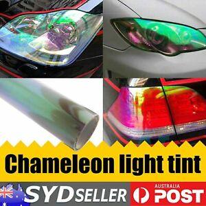 Chameleon Head Tint Film Fog Rear Light Vinyl Wrap Sticker Car Tinting 30 x 80cm