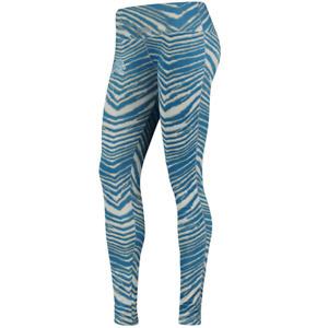 Zubaz NFL Women's Detroit Lions Zebra Print Legging Bottoms