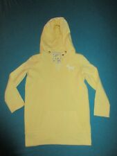VICTORIA SECRET PINK Womens Yellow NYC Apple Hoodie Size Small S