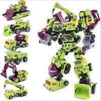 "Weijiang Oversized Transformers Devastator Robots Action Figure 15"" Toy New"