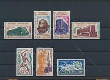 LM65946 Central Africa olympics railroads locomotives fine lot MNH