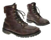 Vintage HUNTING Boots 8.5 EE Mens Moc Toe Leather Lace Up UPLAND Bird Game Boots