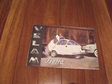 Isetta Velam Iso Brochure Microcar