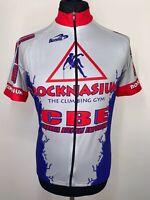 BIEMME Cambria Bicycle Emporium CBE Retro Cycling Shirt Jersey Short Sleeve L