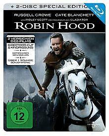 Robin Hood - Steelbook (2 Disc Edition) [Blu-ray] [S...   DVD   Zustand sehr gut