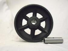 "6"" x 2"" V-Groove 7/8"" Iron Steel Caster Wheel 1000 lbs"
