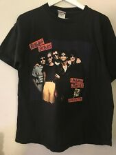 Keith Richards Rolling Stones mens t-shirt rare Europe Tour 1990 Xl