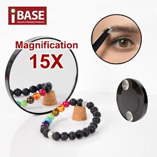 Makeup Mirror 5/10/15X Magnifying Cosmetic Beauty compact Shaving Round Suction