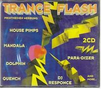 Trance Flash (1995, #zyx81038) Para-Dizer, House Pimps, Nostrum, Quench.. [2 CD]