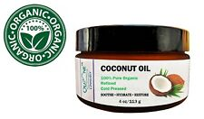 Quane Cosmetics Coconut Oil for Hair , Skin & Face 100% Pure Organic 4 oz