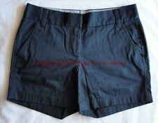 "J CREW 5"" Chino Short 0 XXS XS Shadow Navy Blue NEW Shorts Spring Summer NWT"
