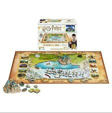 New Harry Potter The Wizarding World 4D Puzzle 892 Piece Set w/ 3D Models Sealed