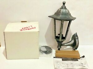 LSE RETAIL TRADITIONAL PLASTIC OUTDOOR WALL LANTERN WITH & WITHOUT PIR BRAND NEW
