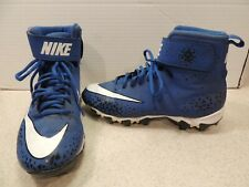 Nike Football Cleats Size 6Y Blue/White 880133-410