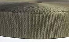 1 metro Correa - cincha Nylon HQ ancho 40 mm verde light - Tan - webbing