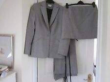 Prince of Wales suit comprising jacket (S10), trousers and skirt (S12)