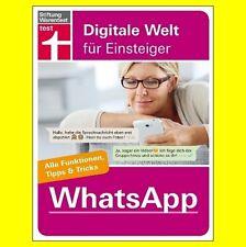 WhatsApp - Alle Funktionen Tipps & Tricks Stiftung Warentest | 9783868512441 NEU