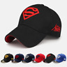 New Letter Superman Cap Casual Outdoor Baseball Caps Hats  Snapback Cap