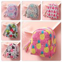 Women Cute Coin Purse Girls Mini Backpack Keys Card Holder Pouch Money Bags