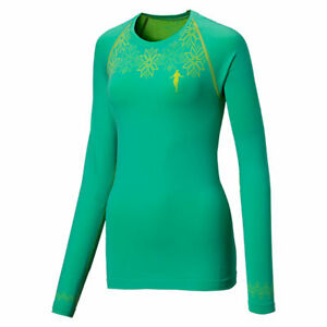thoni mara LA SHIRT OSLO Damen Laufshirt, Mint/Gelb (UVP 55€)
