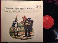 Stravinsky / Prokofiev, Chamber Ensemble, Rozhdestvensky – EX ANGEL SR-40005 LP