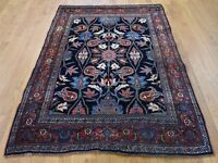 "4'6""x6'6"" Semi Antique Pure Wool HandKnotted Full Pile Oriental Rug G43391"