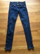 ABBEY DAWN Jeans - Size 3 - W28,  L31, Rise 8 - Skinny, Ankle Zipper