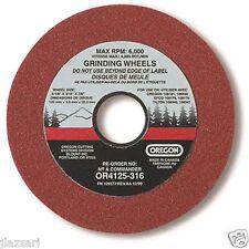 2 PK Oregon Chain Sharpener Grinding Wheel 4-1/8 X 3/16 108181 / 109178 / 109176