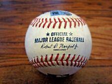 Lourdes Gurriel Toronto Blue Jays Game Used Baseball 5/8/2021 vs Astros Hit Foul