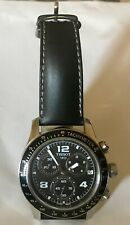 Tissot 1853 - Sport V8 Black Dial Black Leather Men's Watch - Great condition!