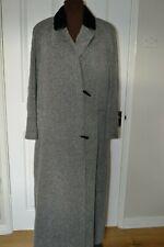 Jacques Vert  Women's Size 10 Maxi Coat with Faux Fur Collar