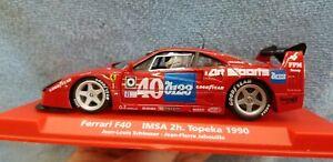 FLY 88283 Ferrari F40 1990 IMSA 2hr. at Topeka Raceway - Schlesser - Jabouille