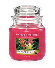 YANKEE CANDLE candela profumata giara media Tropical Jungle durata 90 ore