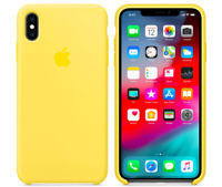 Apple iPhone XS Max 6,5″ Genuine Original Silicone Cover Case Canary Yellow