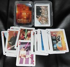 BOX SET CARTE POKER CARDS FILM GUERRE STELLARI + MAGLIETTA T/SHIRT STAR WARS DAY
