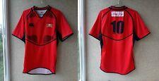Stade Lausanne Rugby Match Worn Jersey Canterbury Switzerland Camiseta # 10