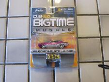 JADA TOYS bigtime muscle 69 pontiac GTO the judge 1:64 SCALE-2005